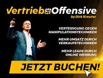 Dirk Kreuter Vertriebsoffensive